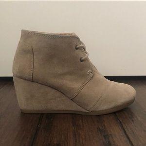 Desert Taupe Suede Women's Kala Booties